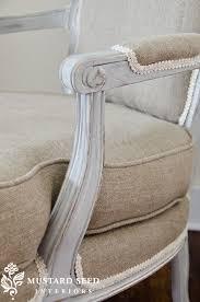 Upholstery Burlap Miss Mustard Seed Home Inspiration Pinterest White Trim