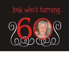 surprise 60th birthday free printable invitation design