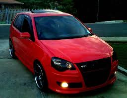 modified volkswagen polo jom coilies fitted but clunking noise from front help the