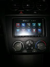 2008 nissan altima custom for sale aftermarket dvd car audio navigation system nissan