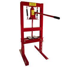 amazon com dragway tools 6 ton hydraulic shop floor press with