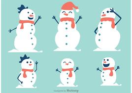 snowman free vector art 4290 free downloads