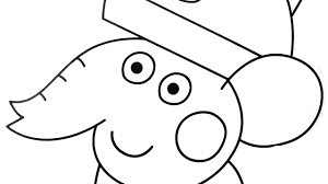 peppa pig coloring emily elephant coloring book coloring pages