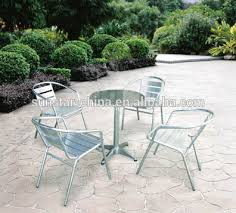 stainless steel table and chairs outdoor garden chair stainless steel table and chair set l91401 3