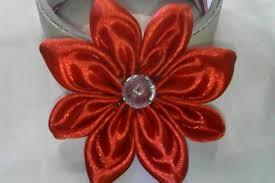 membuat kerajinan bros diy cara membuat bunga sederhana dari pita satin how to make a