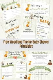 clothespin baby shower woodland themed baby shower and free shower printables