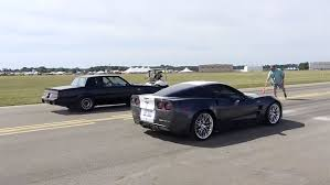 1987 corvette zr1 corvette zr1 vs buick grand national at the battle creek