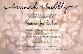 bridal shower invitations brunch bridal shower invitation brunch bubbly theme