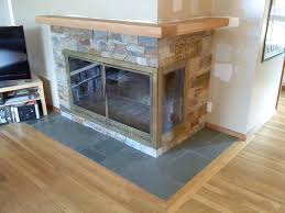 fireplace surround u2013 montana rustic stone veneer with an oak