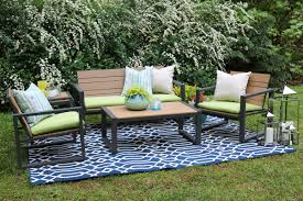 Outdoor Furniture Des Moines by Ae Outdoor Connelly 5 Piece Deep Seating Group With Sunbrella