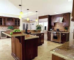 Cherry Wood Kitchen Cabinets With Black Granite Black Granite Kitchen These Lovely Counters Take Center Stage In