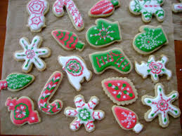 fancy christmas cookies christmas lights decoration