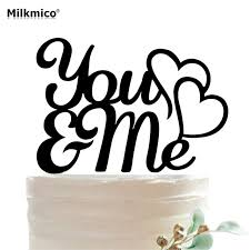 acrylic cake toppers you me acrylic cake toppers wedding anniversary cake