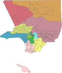 Map Of La County File La County Regions Wikivoyage Map Png Wikimedia Commons
