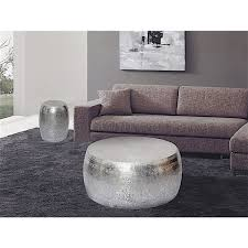 Overstock Round Coffee Table - marrakech hammered metal round coffee table free shipping today