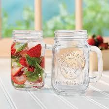 amazon com libbey county fair 16 5 ounce drinking jar with handle