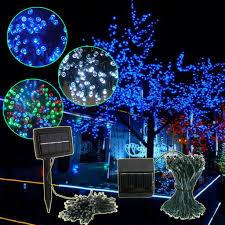 solar powered outdoor christmas lights christmas decor ideas