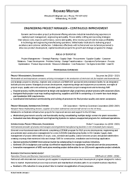 technical project manager resume examples resume continuous improvement manager virtren com download engineering project manager continuous improvement in