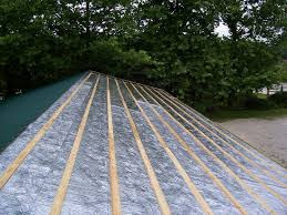 Radiant Barrier Osb Roof Sheathing by Roof Foil U0026 An Ex U0026le Of A Radiant Barrier Shield Properly