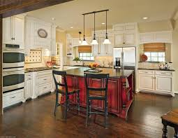 rustic pendant lighting kitchen island and french country style