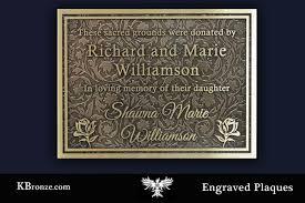 bronze memorial plaques bronze memorial plaque k bronze
