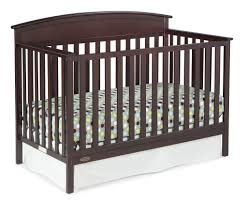 How To Convert Graco Crib To Toddler Bed by Graco Benton 5 In 1 Convertible Crib Espresso