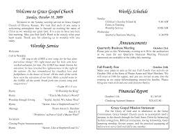 church programs template church service program paso evolist co