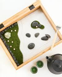 Mini Zen Rock Garden Japanese Sand Garden Mini Home Architecture Design