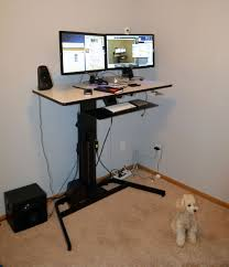 Standing Desk Ergotron Ergotron Workfit D Review Nearly Perfect Sit Stand Desk