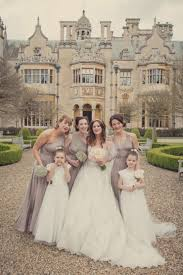 a pretty muted palette for a harlaxton manor wedding uk wedding