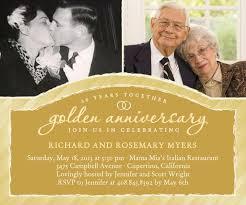 50th anniversary ideas golden anniversary invitations best 25 50th anniversary invitations