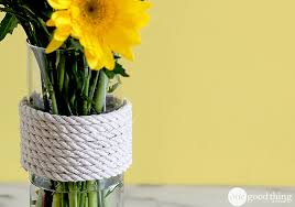 Good Vase Repurpose A Glass Vase Into Trendy Home Decor One Good Thing By