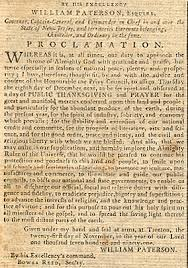 proclamation thanksgiving day 1791 new jersey wallbuilders