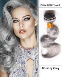 can ypu safely bodywave grey hair granny grey weave body wave weft remy human hair extensions