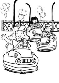 jewish coloring book amusement park coloring pages