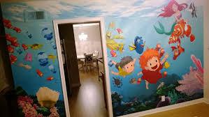 ghibli pixar disney undersea mural i painted for my daughter s 2nd ghibli pixar disney undersea mural i painted for my daughter s 2nd birthday album on imgur