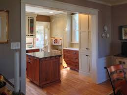 Center Hall Colonial Open Floor Plan Creating An Open Concept Kitchen Mother Hubbard U0027s Custom Cabinetry