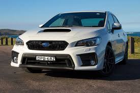 subaru sedan white subaru wrx 2018 review carsguide