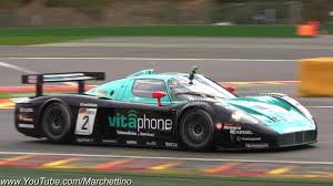 maserati mc12 red maserati mc12 corsa epic sound and accelerations youtube