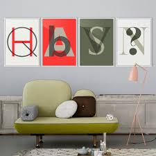 hipster home decor triptych modern minimalist nordic totem maya inka symbol abstract
