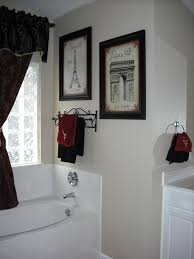 Red And Black Bathroom Ideas Exactly What I Want For Master Bath Black And White Paris With