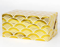 gold wrapping paper etsy