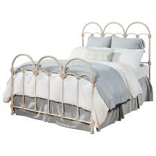 queen rosette iron bed by magnolia home by joanna gaines wolf