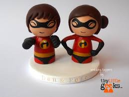 the incredibles wedding band 12 best geeky wedding cake toppers images on wedding
