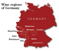 map of regions of germany wine regions of germany wine