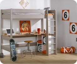 lit enfant mezzanine bureau chambre enfant avec bureau 1 lit mezzanine enfant clay achat