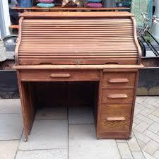 vintage roll top desk value antique oak roll top desk the consortium vintage furniture