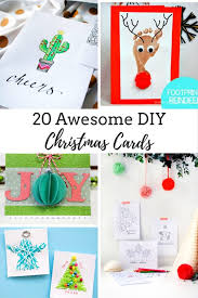 make christmas cards 20 diy ideas to make awesome christmas cards this year