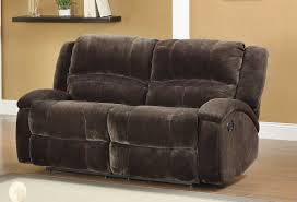 furniture double leather recliner with console double recliners on