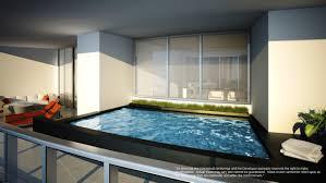 watch sharks from your 50th floor balcony pool porsche design